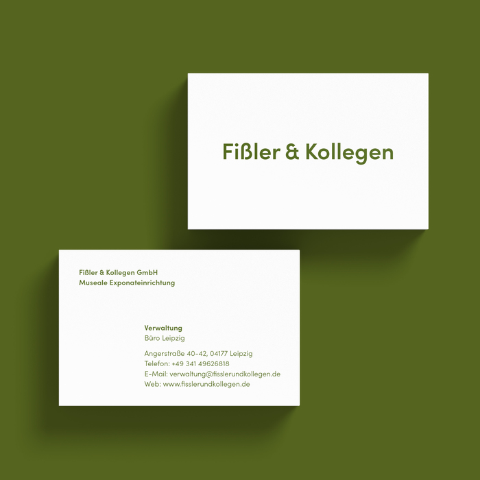 Fißler & Kollegen business cards 2
