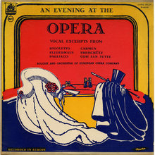 <cite>An Evening At The Opera</cite> (Plymouth) album art