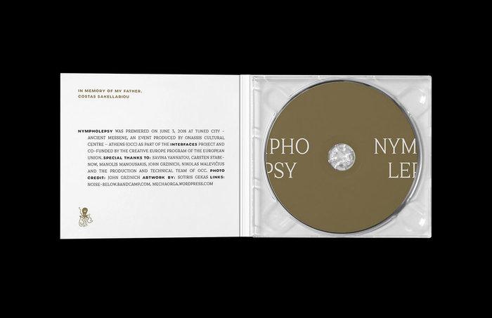 Yiorgis Sakellariou – Nympholepsy album art 2