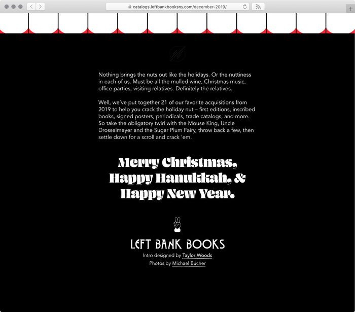 Left Bank Books web catalog #6: Crack Your Nuts 4