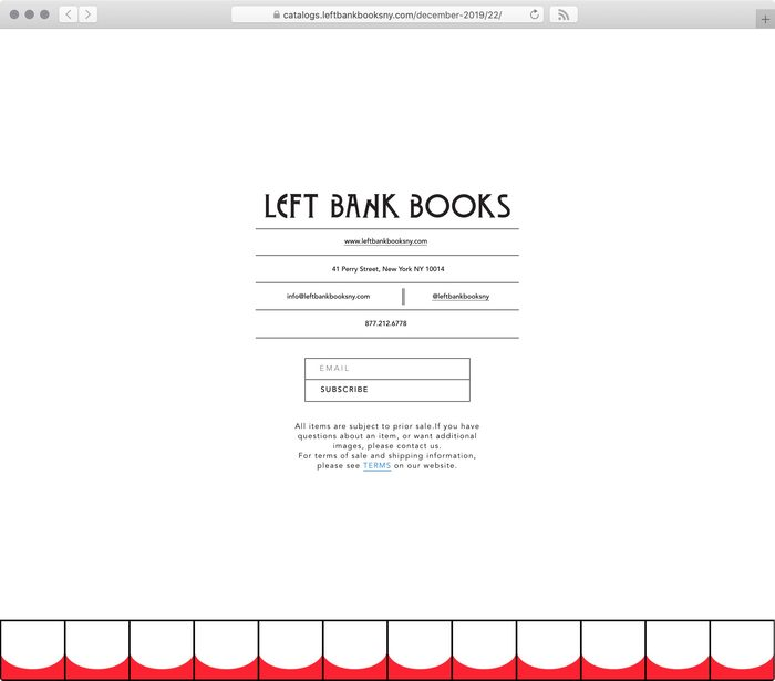 Left Bank Books web catalog #6: Crack Your Nuts 10