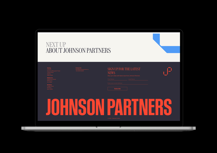 Johnson Partners website 7