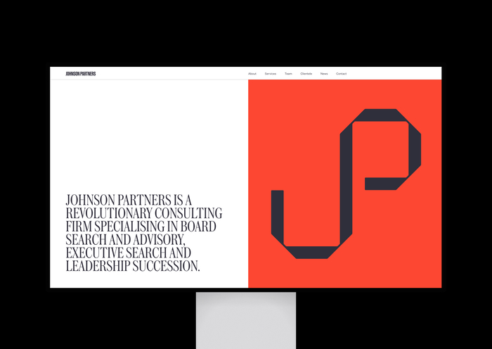 Johnson Partners website 2