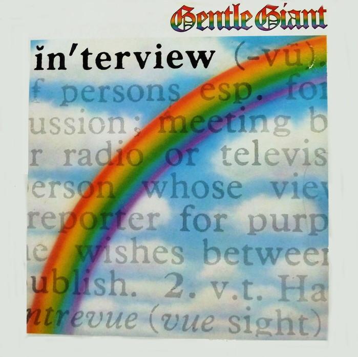 Gentle Giant – Interview album art