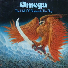 Omega – <cite>The Hall Of Floaters In The Sky</cite> album art