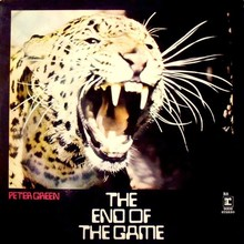 Peter Green – <cite>The End Of The Game</cite> album art
