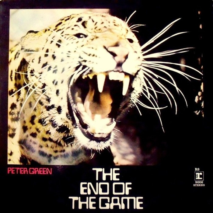 Peter Green – The End Of The Game album art 1