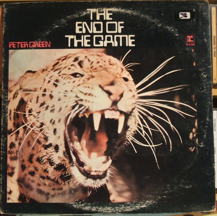 Peter Green – The End Of The Game album art 2