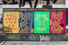 Buckminster Artists welcome posters