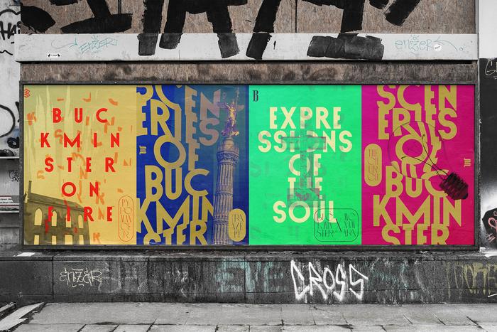 Buckminster Artists welcome posters 1