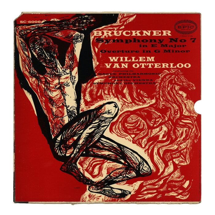 Willem van Otterloo – Bruckner: Symphony No. 7 in EMajor / Overture in GMinor album art