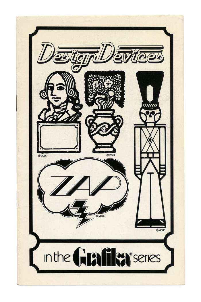 """Design Devices"" (No. G87) ft. , a Letraset release from 1977. ""ZAP"" is probably custom lettering."