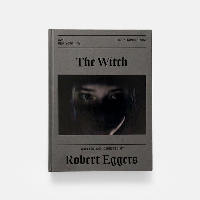 The Witch screenplay book, A24 1