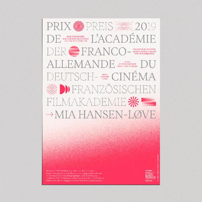 Franco-German Film Academy Award 2019 1