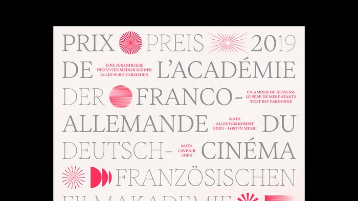 Franco-German Film Academy Award 2019 2
