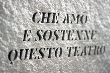 A Riccardo Garrone, commemorative plate