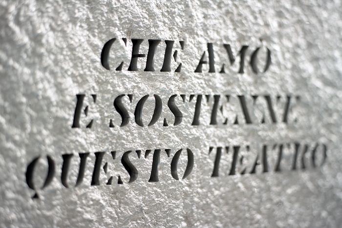 A Riccardo Garrone, commemorative plate 1