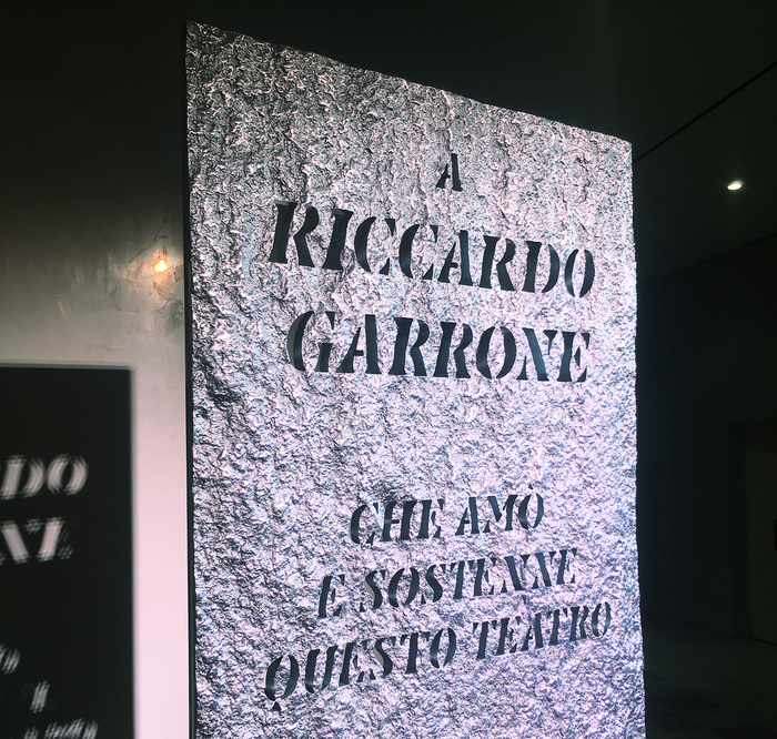 A Riccardo Garrone, commemorative plate 2