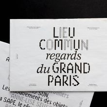 "<cite>Regards du Grand Paris</cite>, ""Lieu commun"""