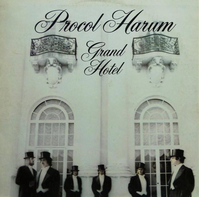 Procol Harum – Grand Hotel album art