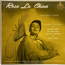 <cite>Rosa La China</cite> album art (Montilla)