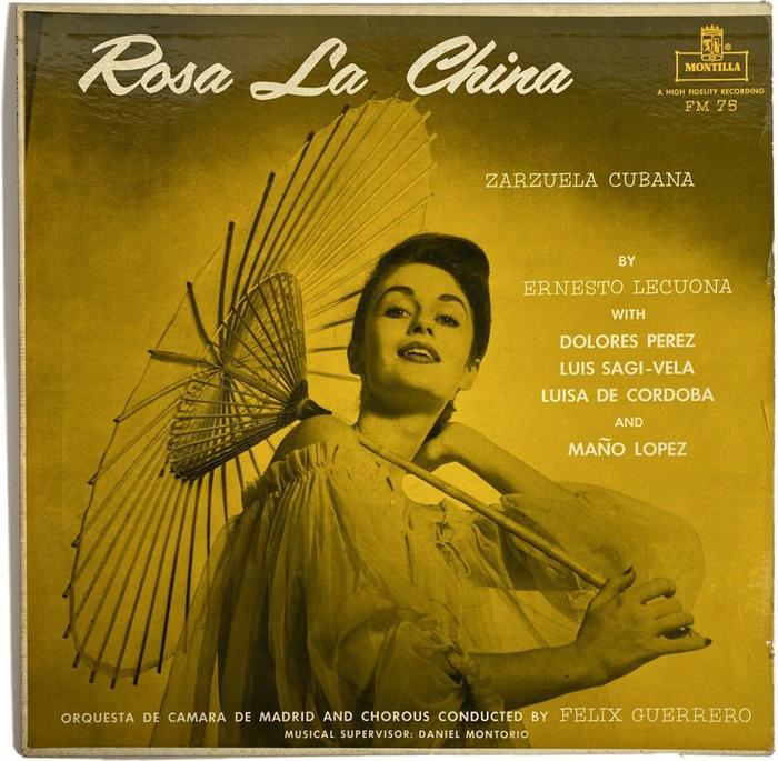 Rosa La China album art (Montilla)