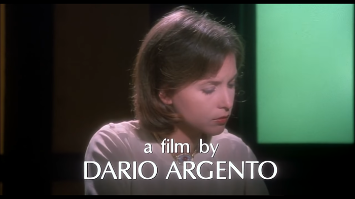 The opening titles in the movie are set in . Head titles are credited to Studio Verzini.