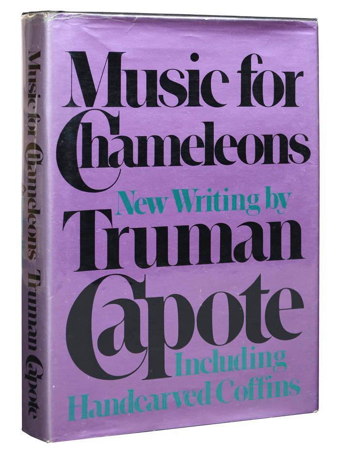 Music for Chameleons by Truman Capote (Random House, first edition) 2