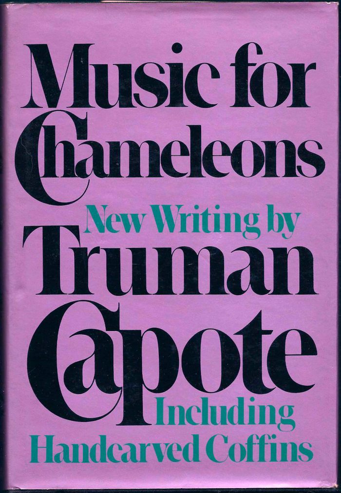 Music for Chameleons by Truman Capote (Random House, first edition) 1