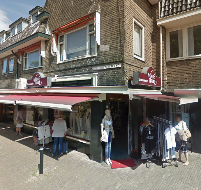 The Miss Tique store on Van Schagenstraat 1, Voorburg …