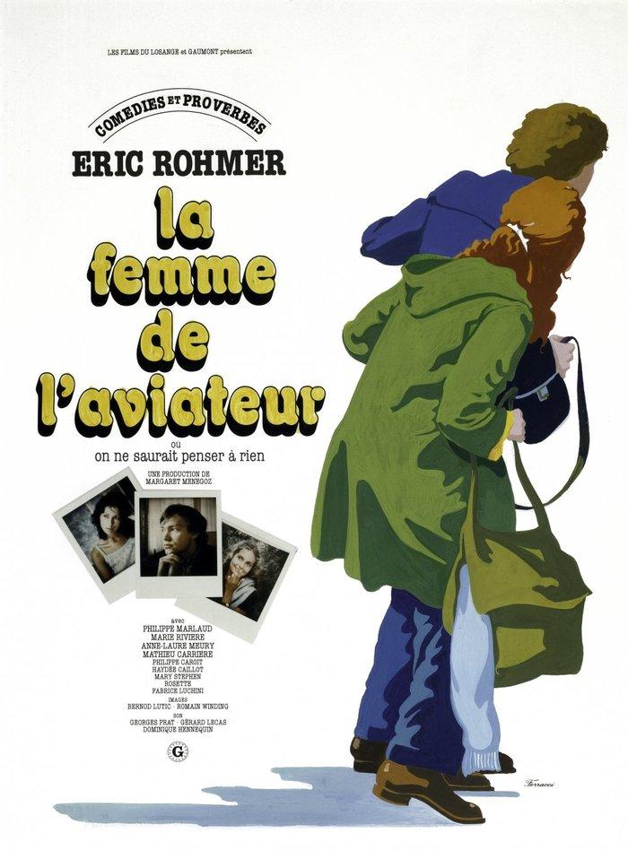 La femme de l'aviateur (1981) French movie poster
