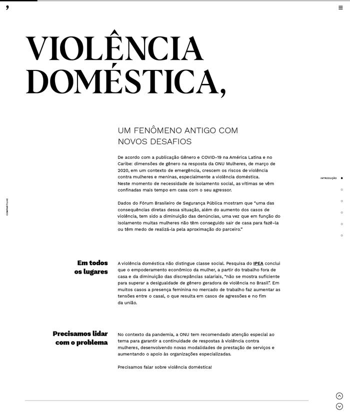 Em Nome das Rosas website 5