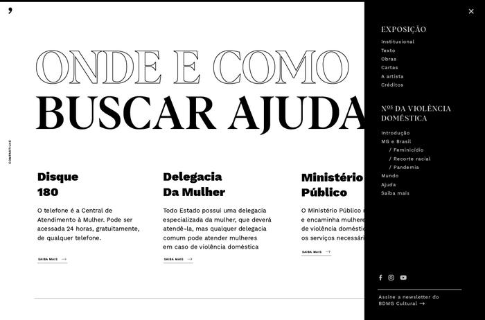 Em Nome das Rosas website 7