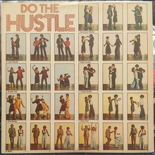 <cite>Do The Hustle</cite> Vol. 1 and 2 album art (<span>Realm Records) </span>