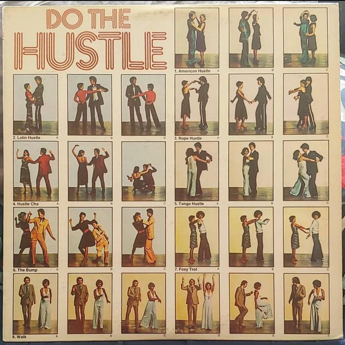 Do The Hustle Vol. 1 and 2 album art (Realm Records) 1