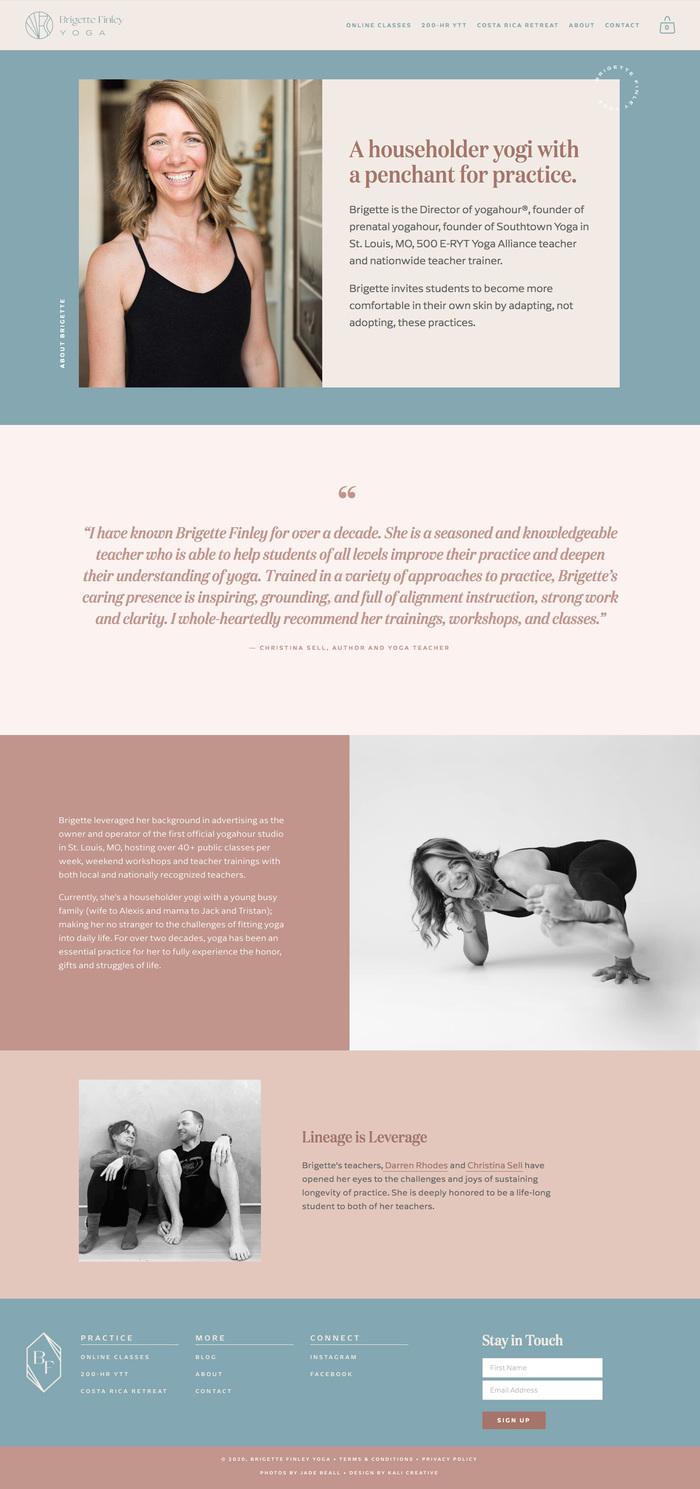Brigette Finley Yoga 3