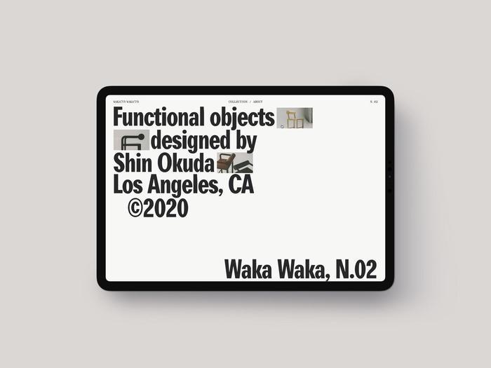 Waka Waka, Collection N.02 3
