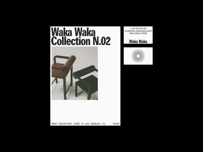 Waka Waka, Collection N.02 2