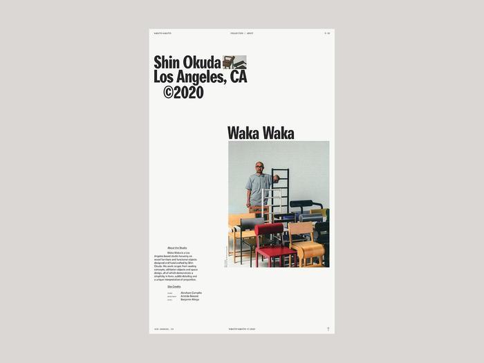 Waka Waka, Collection N.02 6