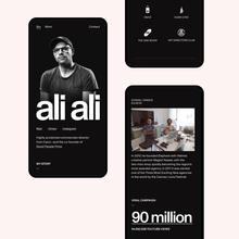 Ali Ali website