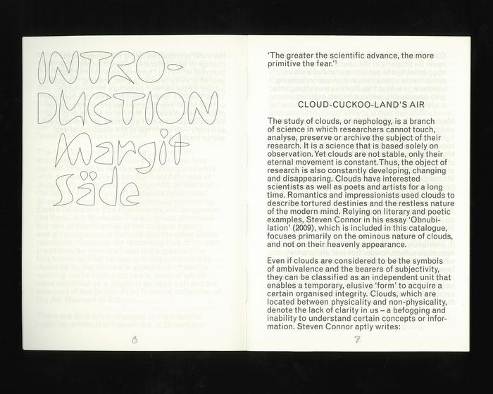 Cloudbusters: Intensity vs. Intention – 17th Tallinn Print Triennial exhibition guide book / catalogue 2