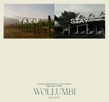 Wollumbi Estate website
