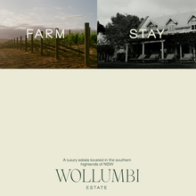 Wollumbi Estate website