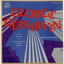Viennese Symphonic Orchestra – <cite>George Gershwin</cite> album art