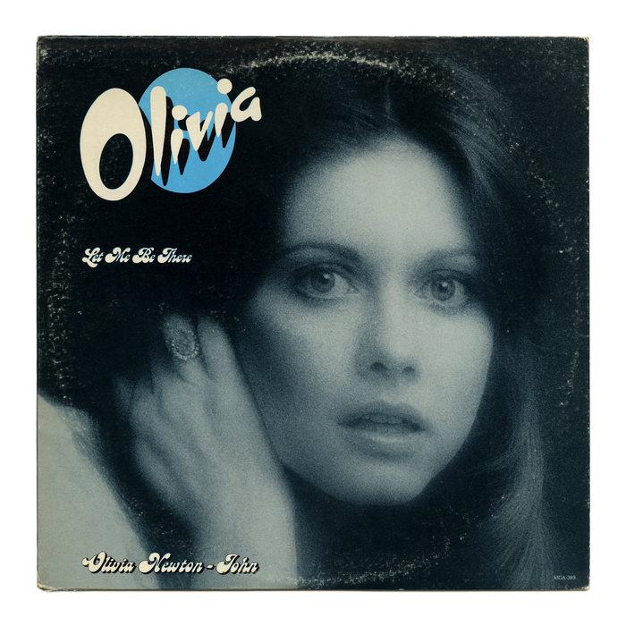 Olivia Newton-John – Let Me Be There album art