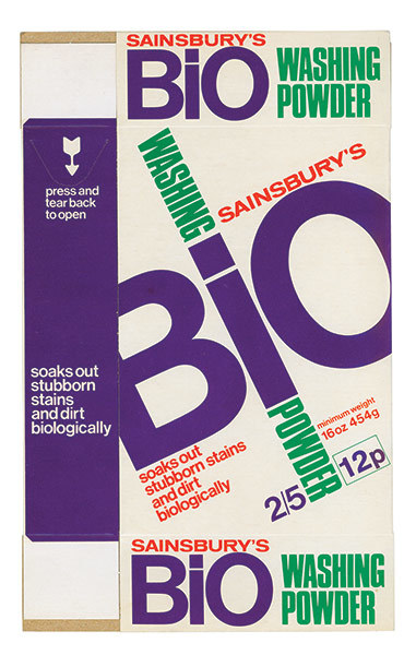 Sainsbury's Packages, 1962–1977 3