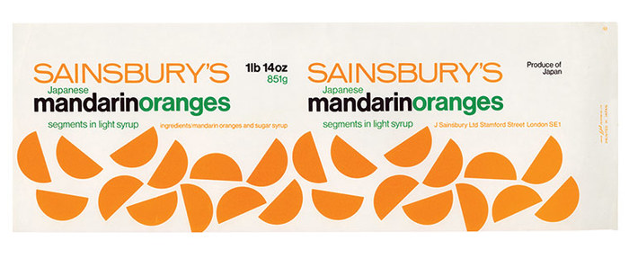Sainsbury's packages, 1962–1977 5