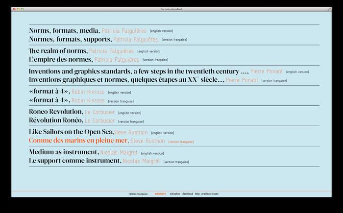 Format–standard Web Magazine 3