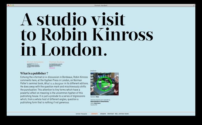 Format–standard Web Magazine 4