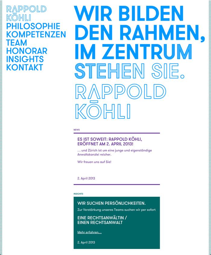 Rappold Köhli Website 1